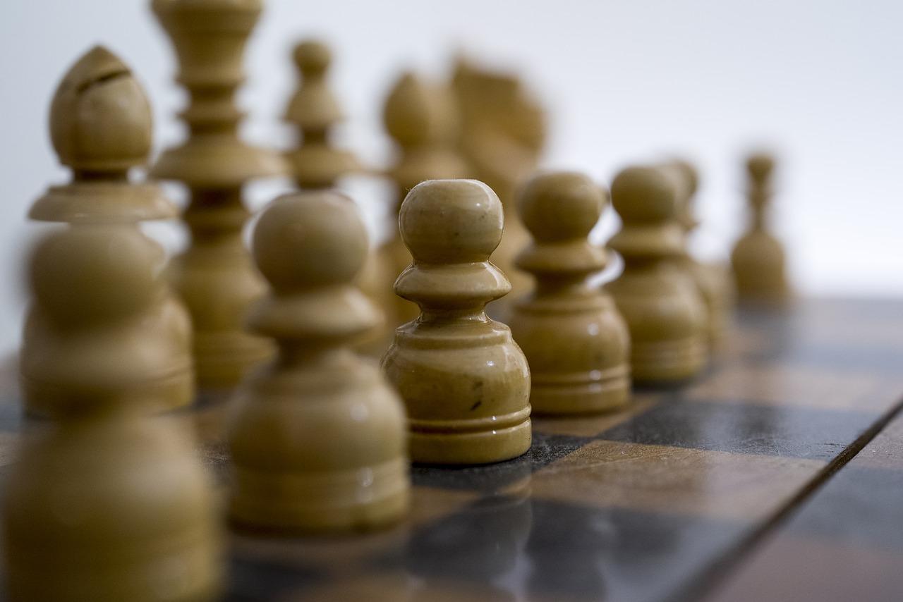 chess, white, game